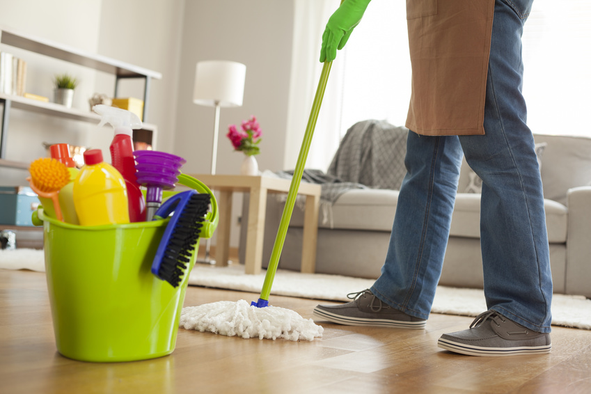 Getting ready to sell a house cleaning